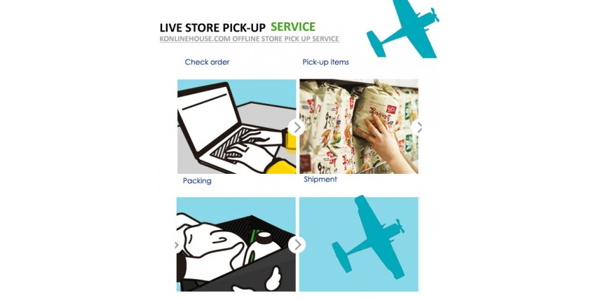 Live Store Pick-up Service