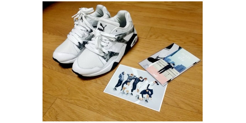 BTS Photo packs with New BLAZE Shoes